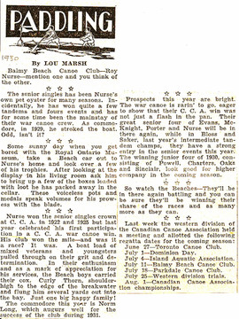 1930 ROY NURSE & OTHERS
