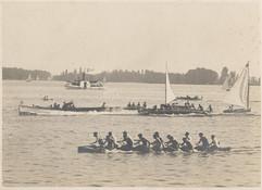 1914c WAR CANOE RACE perhaps _ TORONTO H