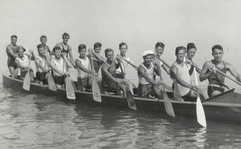 1933 JR WAR CANOE