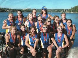 2012 Nationals Dartmouth - Womens Warcanoe