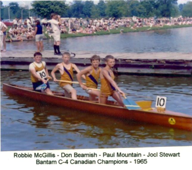 1965 C4 CHAMPS ROBBIE McGILLIS, DON BEAR