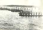 1935 SUDBURT WAR CANOE COMMODORE'S SALUT