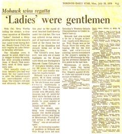 1970 REGATTA and KLONDIKE