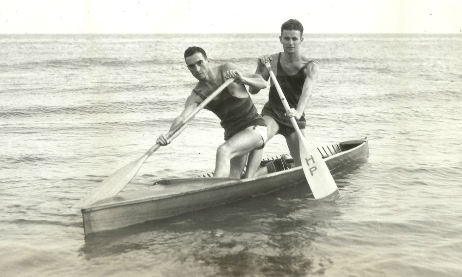 1934 JR TANDEM G SLIGHTON, G POWELL DOMI