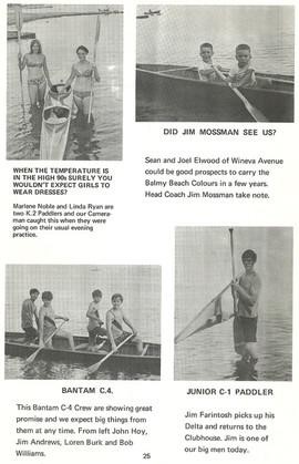 1969 REGATTA PROGRAMME
