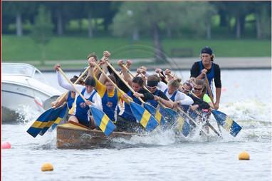 2014 Nationals Regina - Womens Warcanoe.
