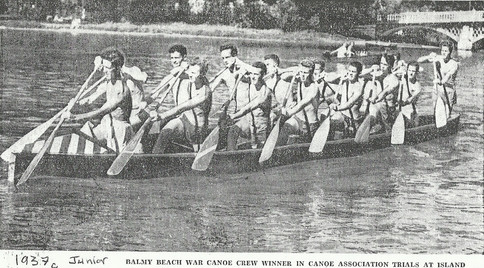 1937c JR WAR CANOE WINS AT ISLAND copy.j