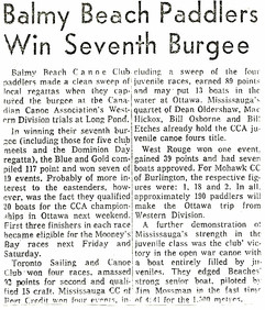 1963 BBCC WIN 7th BURGEE _ LONG POND