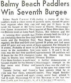 1963 BBCC WIN 7th BURGEE _ LONG POND