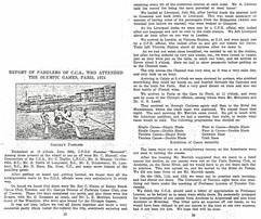 1924 PADDLERS DIARY TO PARIS OLYMPICS 1