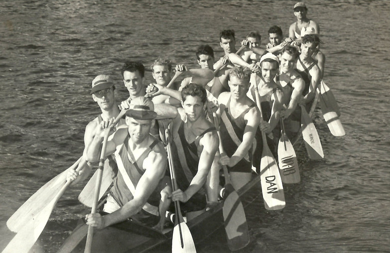 1948 SR WAR CANOE MILE DOMINION CHAMPS 2