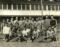 1957 WAR CANOE MILE & .5 MILE CHAMPS 01