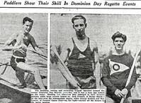1935c FRIZELLE @ DOMINION DAY REGATTA co