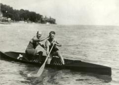 1925 C2 DOM CHAMPS GERRY NURSE, ROY NURS