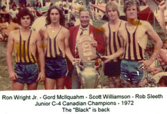 1972 C4 CHAMPS RON WRIGHT JR, GORD McLLQ