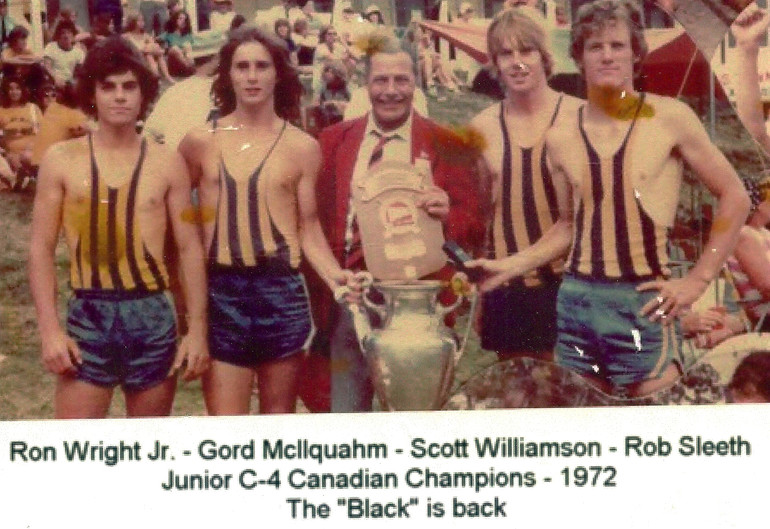 1972 C4 CHAMPS RON WRIGHT JR, GORD McLLQ