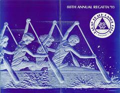 1993 REGATTA PROGRAMME
