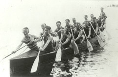 1930 SR WAR CANOE MILE DOMINION & BRITIS