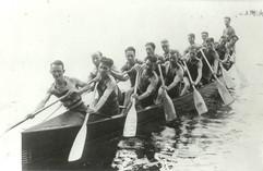 1930 SR WAR CANOE MILE DOMINION & BRITIS