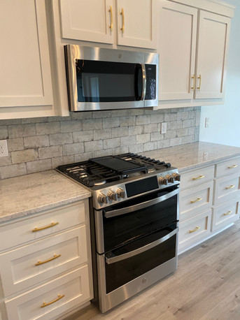 Dual fuel double ovens with wifi capability