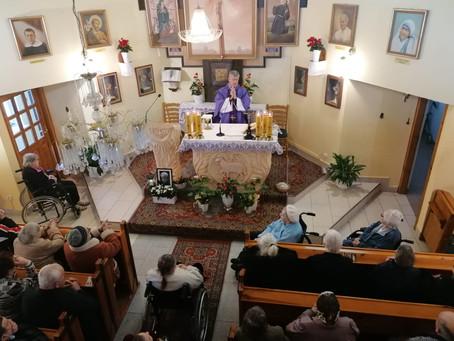 Środa Popielcowa w Przystani Maryi w Jarosławiu
