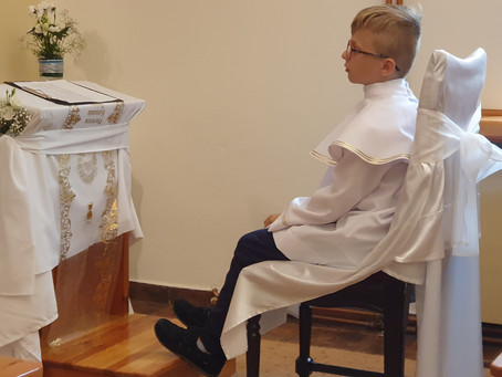 I Komunia św. Nataniela