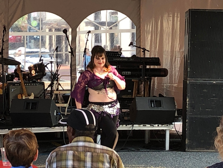 Jamie at the Frederick Arts Festival