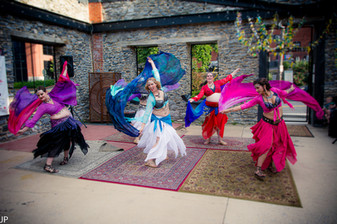 Anam Cara Students at the Hot Summer Nights Hafla. Photography by JP Photography