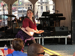Tracey at the Frederick Arts Festival