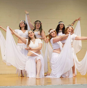 "Troupe Anam Cara performing ""Skye Boat Song"" at Troupe Ashera's Holiday Hafla"