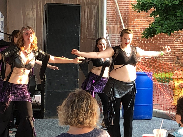 Anam Cara Students at the Frederick Arts Festival