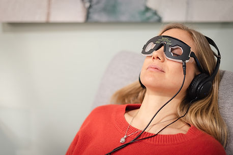 Maryland Center for Brain Health uses Audio Visual Entrainment to optimize brain function