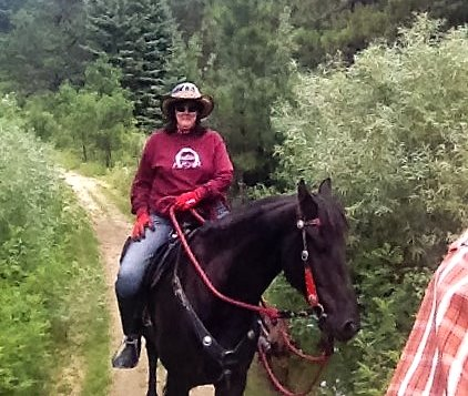 Trail Riding in the Black Hills 2016