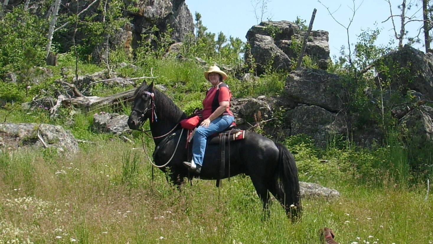 Trail Riding in the Black Hills 2015
