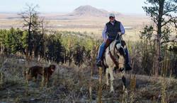 Trail Riding- Bear Butte