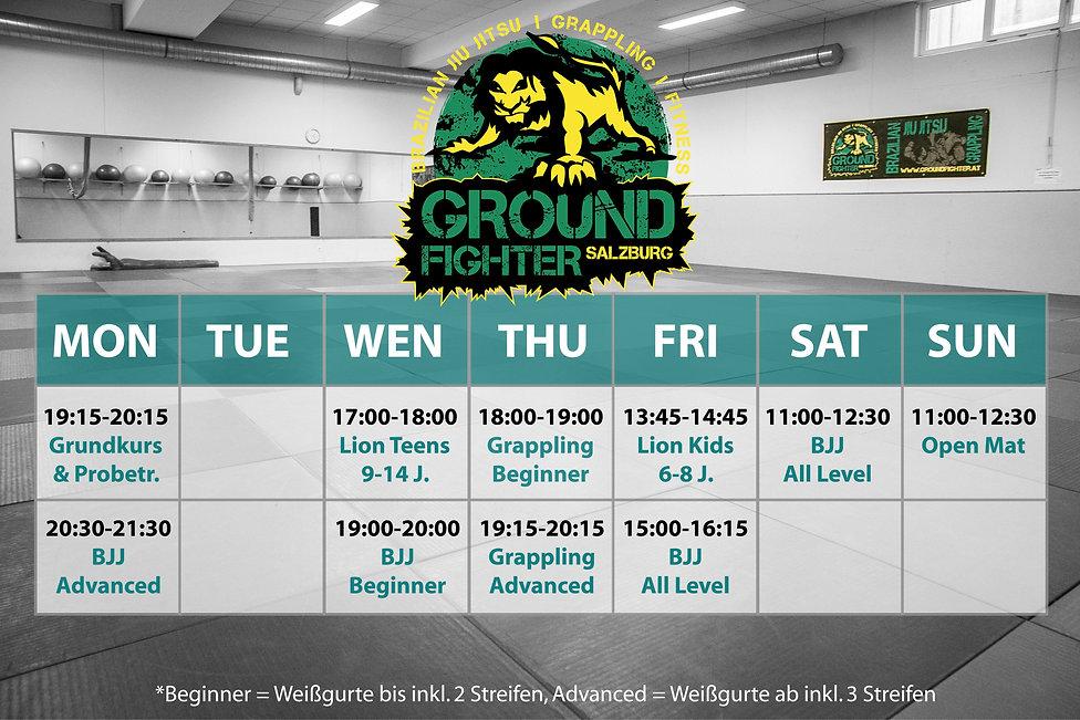 Groundfighter Salzburg Brazilian Jiu Jitsu, Grappling, Selbstverteidigung, Fitness