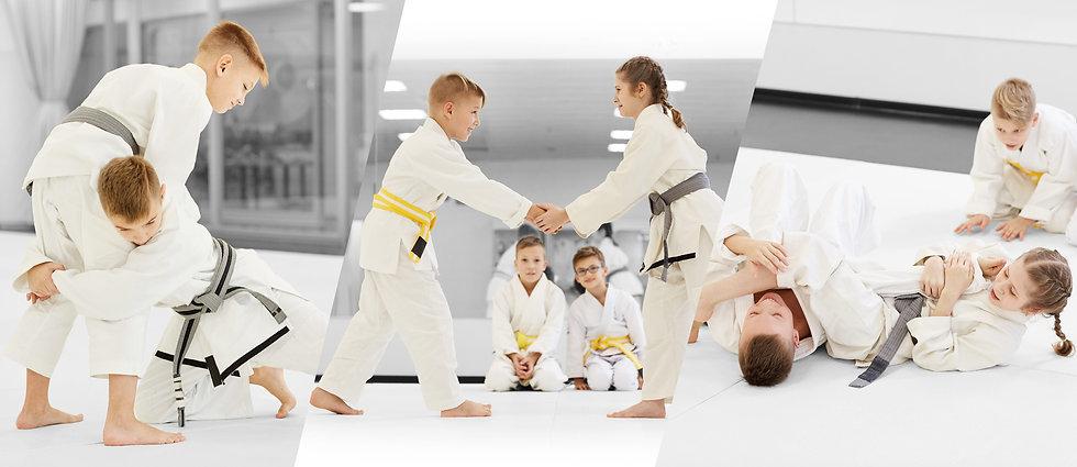 Kampfsport Selbstverteidigung Brazilian Jiu Jitsu Grappling Kindertraining