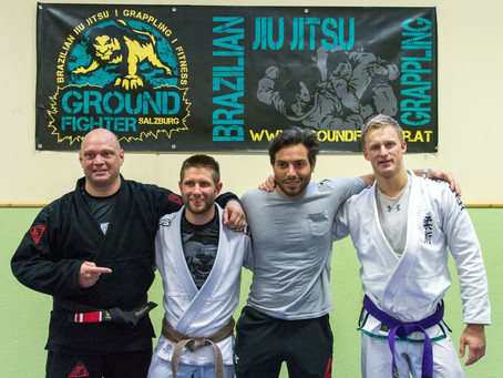 First brownbelt and new purplebelt