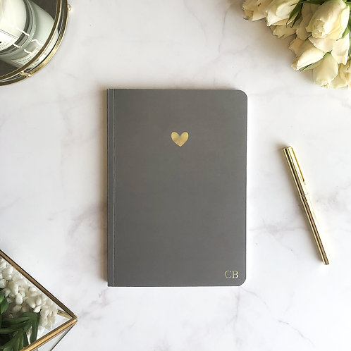 Grey Icon Softcover Notebook