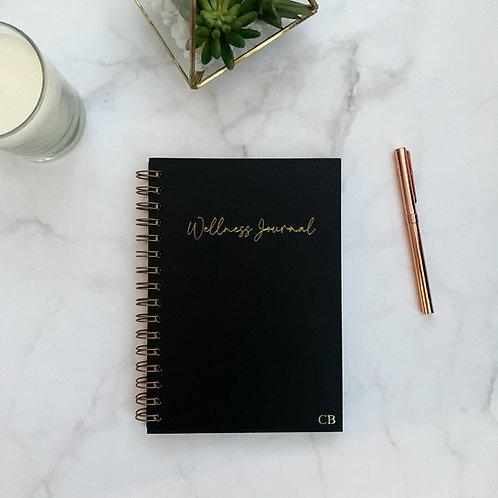 Wellness Journal - Black