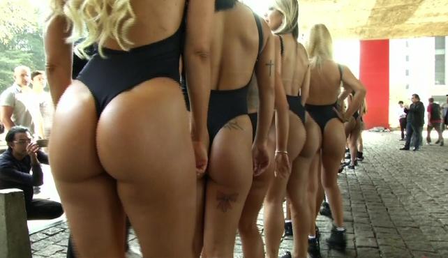 Comienza batalla por el título de mejor trasero de Brasil en el concurso Miss BumBum (video)