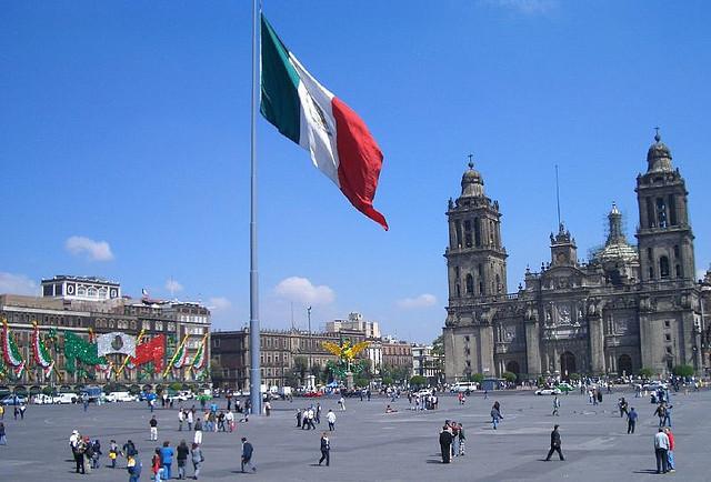 Plaza de El Zócalo, México DF