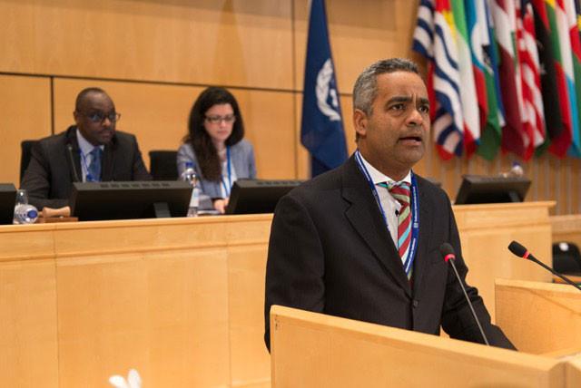 Joel Santos, tesorero de la Asociación de Hoteles y Turismo de la República Dominicana
