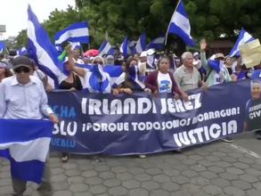 Multitudinarias marchas en Managua exigiendo la renuncia del Presidente Daniel Ortega (video)
