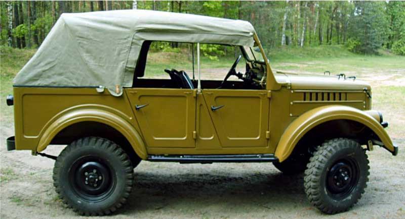 Vehiculo todoterreno Gaz producido entre los años 1962 y 1987