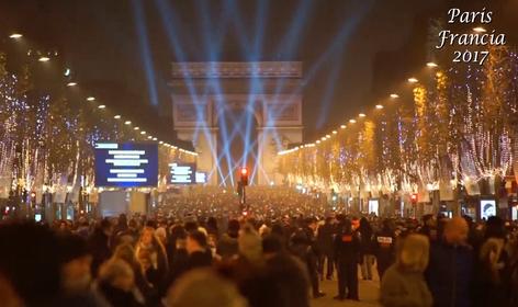 Esperando el Año Nuevo alrededor del mundo: Sudáfrica, Francia, Inglaterra y Colombia. (video)