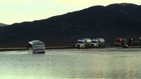 Oficina Nacional de Emergencias (Onemi) de Chile extiende alerta en Atacama por inundaciones (video)