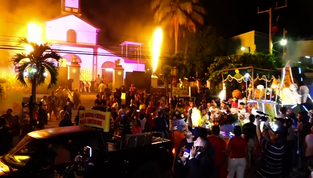 Destinos America Mia: Festival de las Bolas de Fuego de Nejapa, El Salvador (video)