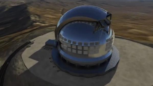 Arranca en Chile la construcción del telescopio espacial más grande de todos los tiempos (video)