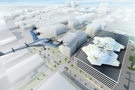 El primer servicio de taxis voladores comenzará en el 2020 (video de las pruebas del EHang 184)